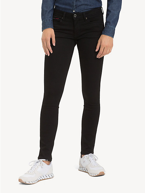 TOMMY JEANS Sophie stretch skinny fit jeans - STATEN BLACK STRETCH - TOMMY JEANS Jeans - main image