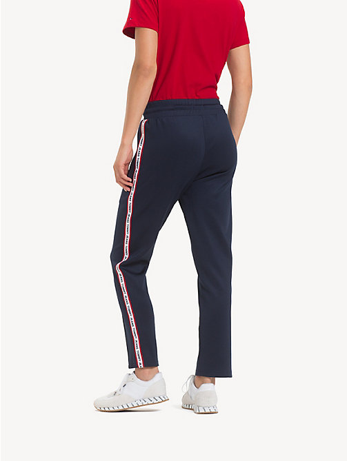 TOMMY JEANS Slim Fit Tracksuit Bottoms - BLACK IRIS - TOMMY JEANS Trousers & Skirts - detail image 1