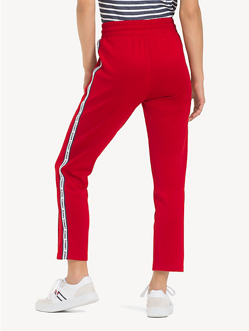 TOMMY JEANS Slim Fit Tracksuit Bottoms - SAMBA - TOMMY JEANS Trousers & Skirts - detail image 1