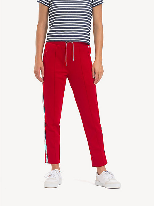 TOMMY JEANS Slim Fit Tracksuit Bottoms - SAMBA - TOMMY JEANS Trousers & Skirts - main image