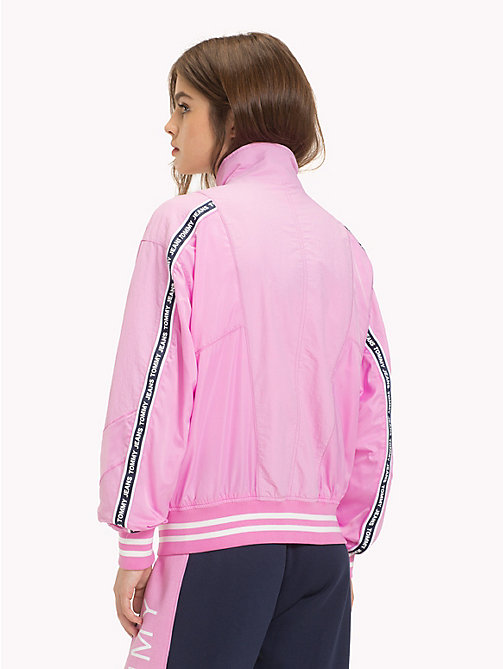 TOMMY JEANS Relaxed Fit Bomber Jacket - LILAC CHIFFON - TOMMY JEANS Coats & Jackets - detail image 1