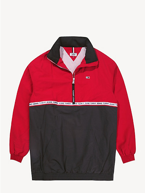 TOMMY JEANS Colour-blocked anorak - SAMBA / TOMMY BLACK - TOMMY JEANS Jassen & Jacks - detail image 1