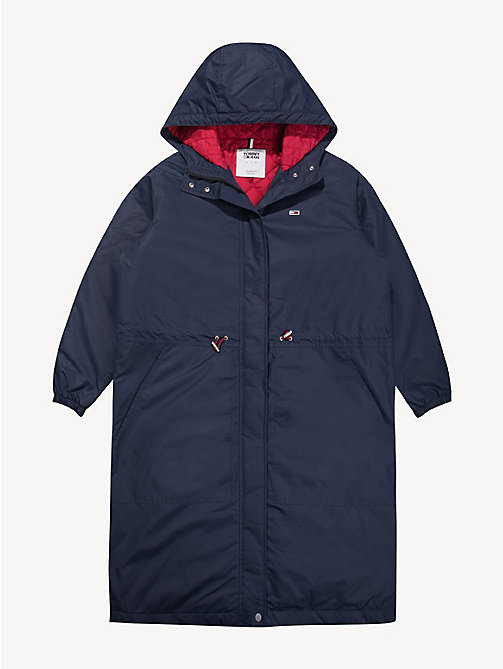 TOMMY JEANS Padded Parka Jacket - BLACK IRIS - TOMMY JEANS Sustainable Evolution - detail image 1