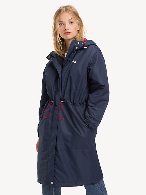TOMMY JEANS Parka matelassée - BLACK IRIS - TOMMY JEANS Sustainable Evolution - image principale
