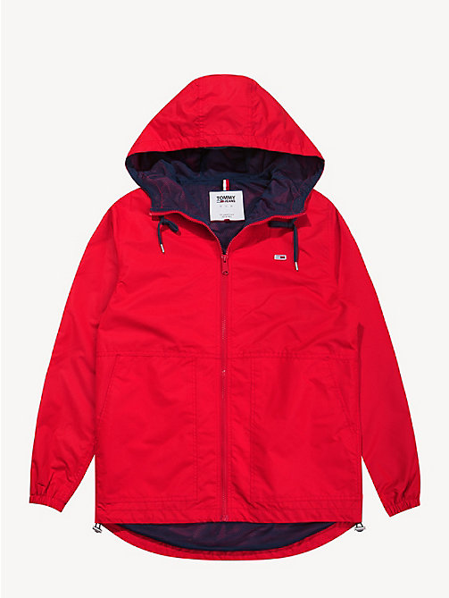 TOMMY JEANS Hooded Windbreaker Jacket - SAMBA - TOMMY JEANS Sustainable Evolution - detail image 1