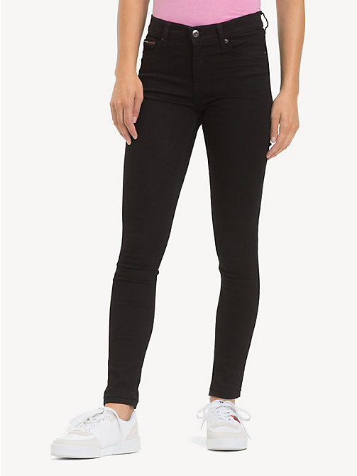 TOMMY JEANS Nora Power Stretch Skinny Jeans - STATEN BLACK STRETCH - TOMMY JEANS Jeans - main image