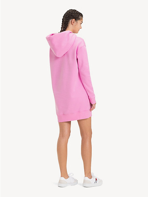 TOMMY JEANS Tommy Classics Hoody Dress - LILAC CHIFFON - TOMMY JEANS Tommy Classics - detail image 1
