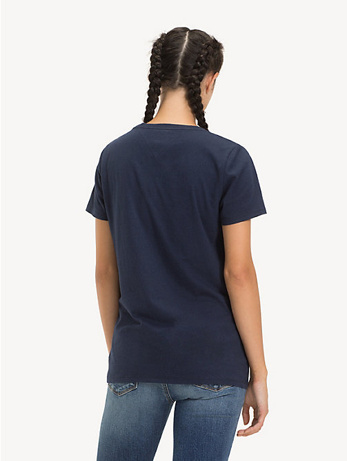 TOMMY JEANS T-shirt - BLACK IRIS - TOMMY JEANS Sustainable Evolution - dettaglio immagine 1