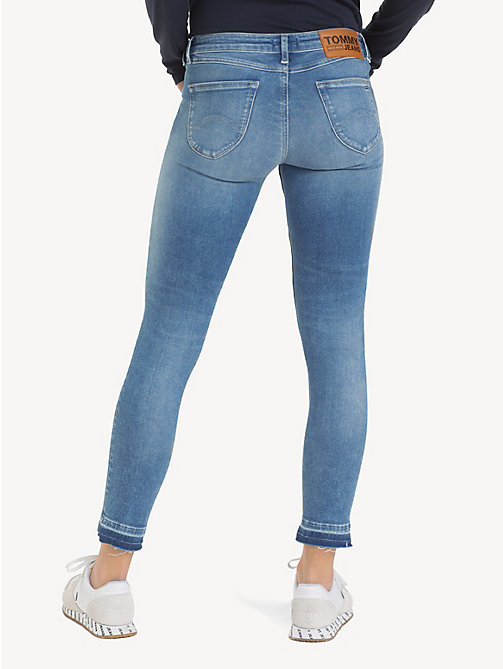 TOMMY JEANS Sophie enkellange skinny fit jeans - ECHO LIGHT BLUE STR - TOMMY JEANS Jeans - detail image 1