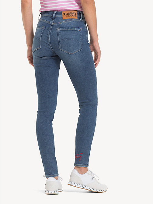 TOMMY JEANS Jeans skinny Santana - SOTO MID BLUE STR - TOMMY JEANS Jeans - dettaglio immagine 1