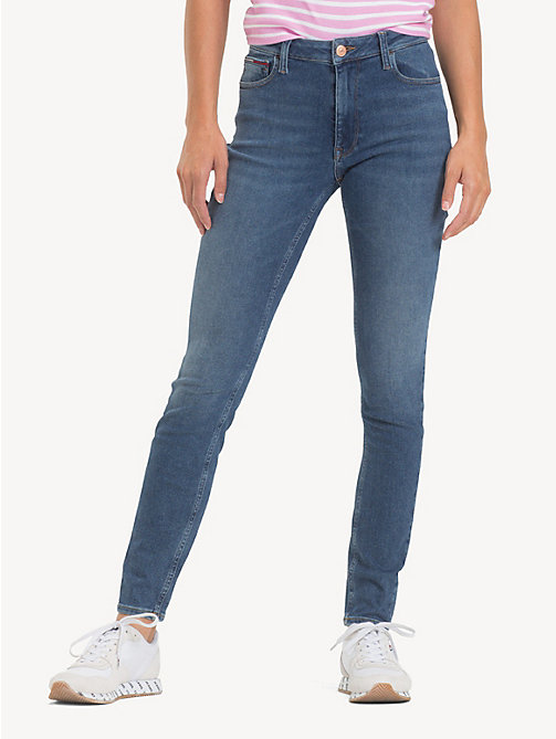 TOMMY JEANS Jeans skinny Santana - SOTO MID BLUE STR - TOMMY JEANS Jeans - immagine principale