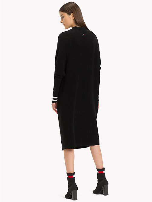 TOMMY JEANS Relaxed Fit Turtleneck Dress - TOMMY BLACK - TOMMY JEANS Midi - detail image 1