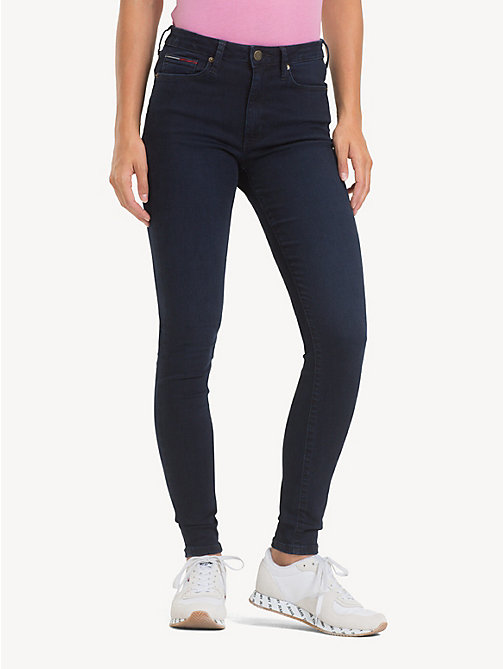 TOMMY JEANS TJ 2008 Super Skinny Jeans - AVENUE DARK BLUE STR - TOMMY JEANS Jeans - main image