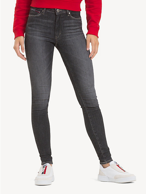 TOMMY JEANS TJ 2008 Super Skinny Jeans - SKY GREY STRETCH -  Jeans - main image