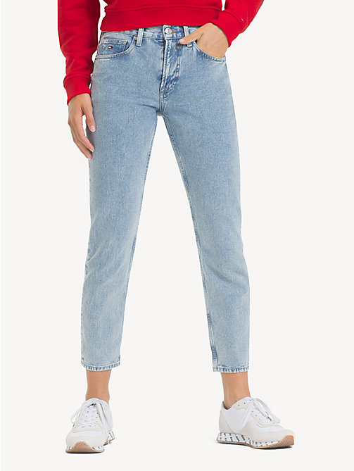 TOMMY JEANS Izzy Cropped Fit Jeans - EIGHTIES LT BL RIG - TOMMY JEANS Jeans - main image