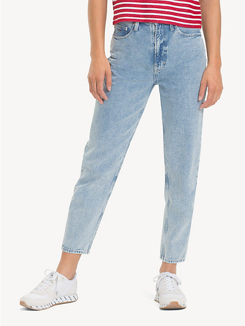 TOMMY JEANS TJ 2004 Mom Jeans - EIGHTIES LT BL RIG - TOMMY JEANS Jeans - main image