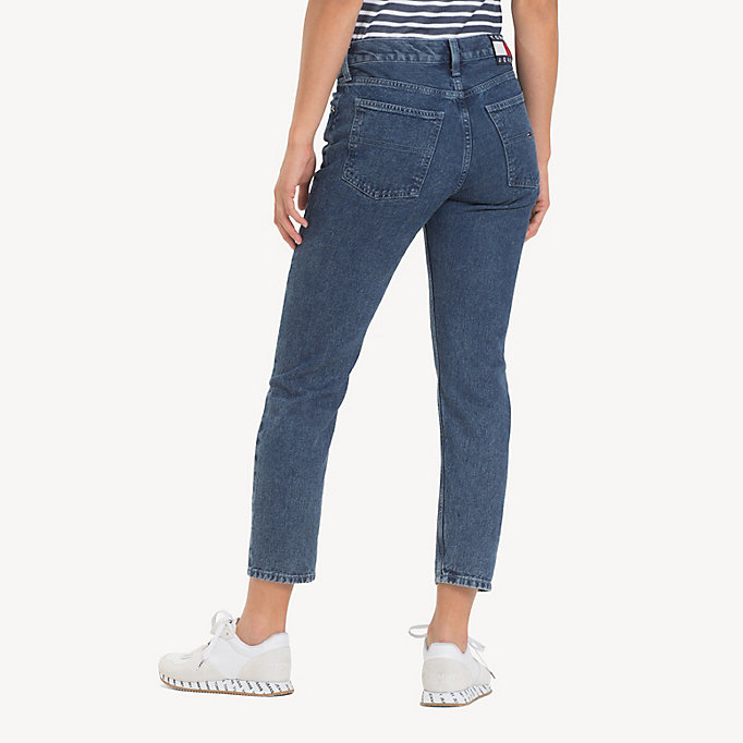 3cd190735aed84 Izzy High Rise Cropped Jeans | Tommy Hilfiger