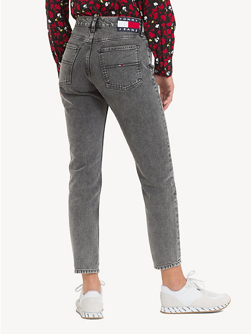 TOMMY JEANS Izzy high rise cropped jeans - NOAH BLACK RIGID - TOMMY JEANS Jeans - detail image 1