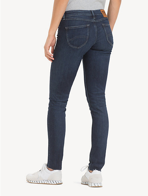 TOMMY JEANS Low Rise Skinny Jeans - ROCK DARK BLUE STR - TOMMY JEANS Jeans - detail image 1
