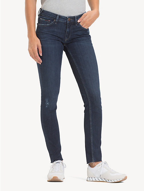 TOMMY JEANS Low Rise Skinny Jeans - ROCK DARK BLUE STR - TOMMY JEANS Jeans - main image