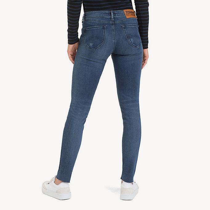 premium valinta hyvä rakenne lenkkitossut Sophie Distressed Low Rise Skinny Jeans | DENIM | Tommy Hilfiger