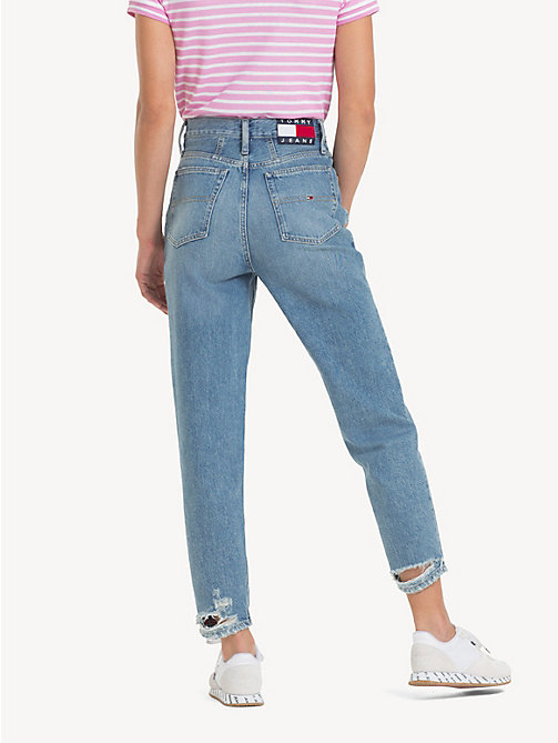 TOMMY JEANS Tommy Jeans 2004 mom jeans - SYDNEY LIGHT BL RIG - TOMMY JEANS Jeans - detail image 1
