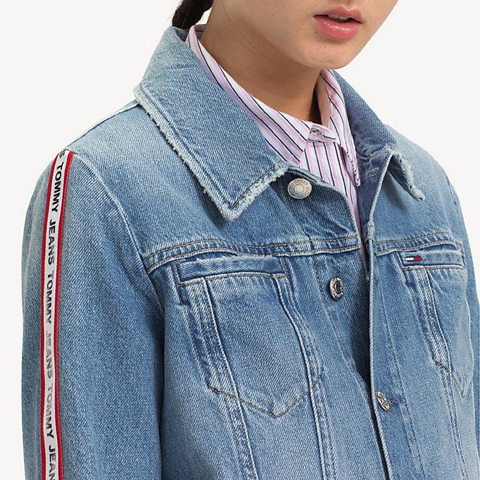 eebb4543 Logo Tape Denim Jacket | Tommy Hilfiger