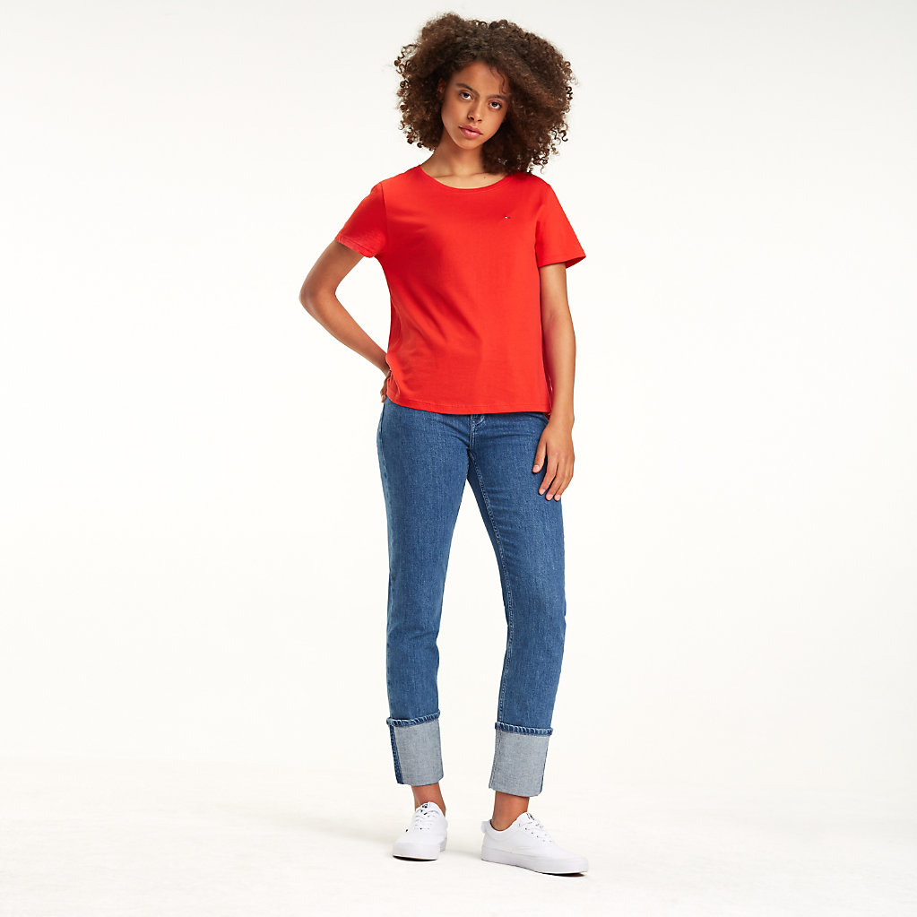 Tommy Hilfiger - Camiseta de algodón orgánico - 1