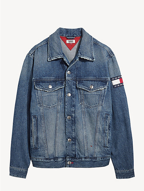 TOMMY JEANS Oversized Denim Jacket - SYDNEY MID BL  RIG -  Coats & Jackets - detail image 1