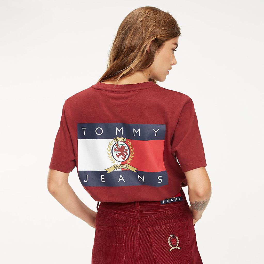 Tommy Hilfiger - Crest Flag Logo T-Shirt - 2