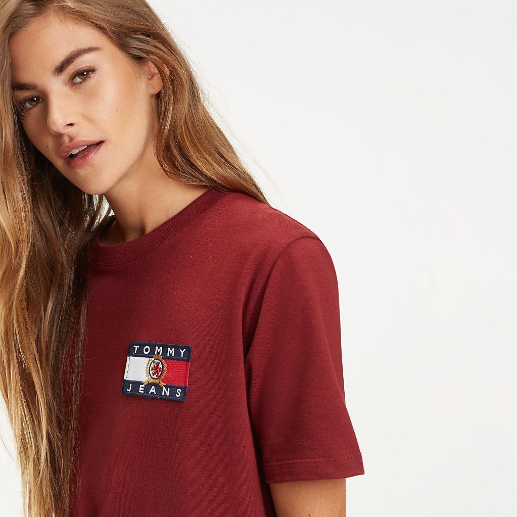 Tommy Hilfiger - Crest Flag Logo T-Shirt - 4