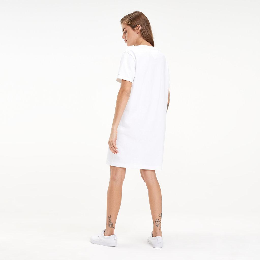 Tommy Hilfiger - Robe T-shirt en coton à logo - 2