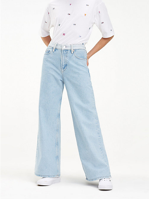 ff8665055767 NEW TOMMY JEANS Flare Fit Jeans - BRIGHT LIGHT BL RIG - TOMMY JEANS Jeans -  main ...