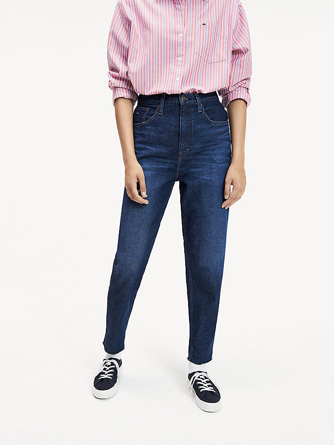 Mom Tapered Leg Fit Jeans by Tommy Jeans