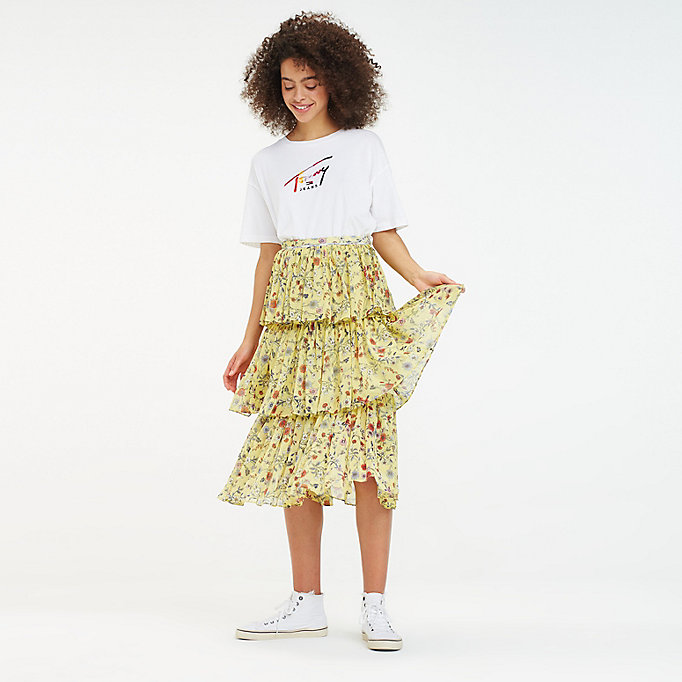 750441e6b Floral Festival Layer Skirt   Tommy Hilfiger