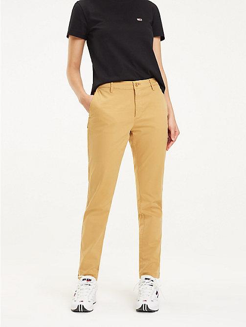 Spijker Joggingbroek Dames.Damesbroeken Zomerbroeken Pantalons Tommy Hilfiger Nl