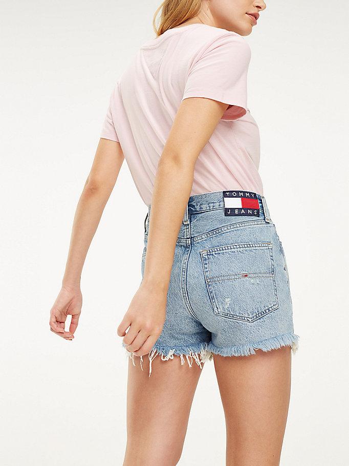 Korte spijkerbroek van puur katoen | DENIM | Tommy Hilfiger