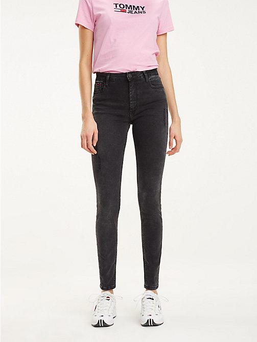15bde5666235 jeans santana skinny fit denim da donna tommy jeans