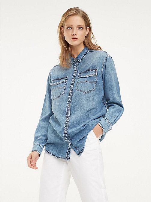 eb7602a4ce6a8 Koszule i bluzki damskie | Tommy Hilfiger® PL