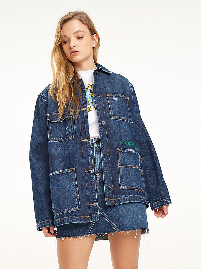 Giacche Riciclo Donna Donna Jeans Giacche Jeans Giacche Riciclo Jeans xoWQrCBde