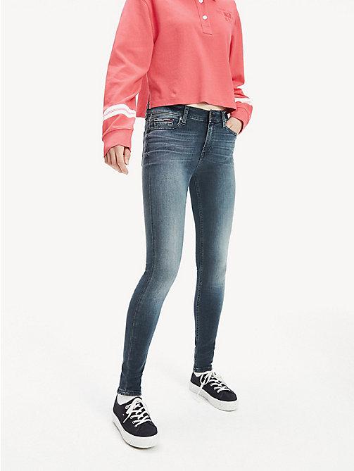 59ef78d165 jean skinny dynamic stretch noir bleuté denim pour femmes tommy jeans