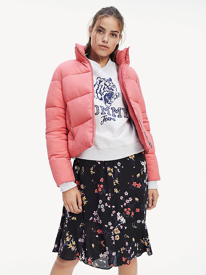 Zip Thru Puffer Jacket