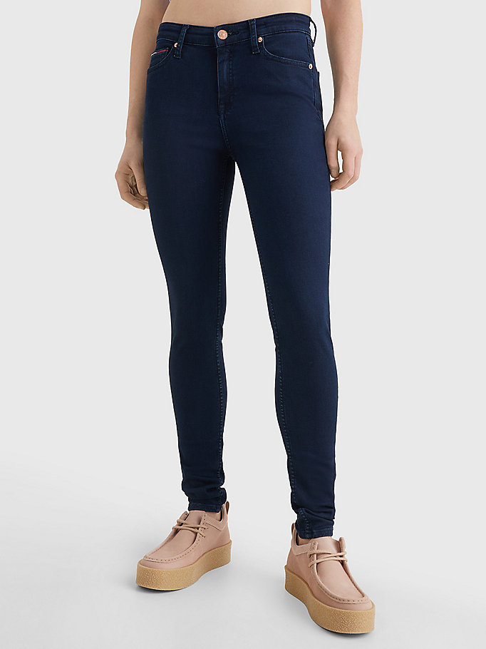 denim nora mid rise skinny fit jeans for women tommy jeans