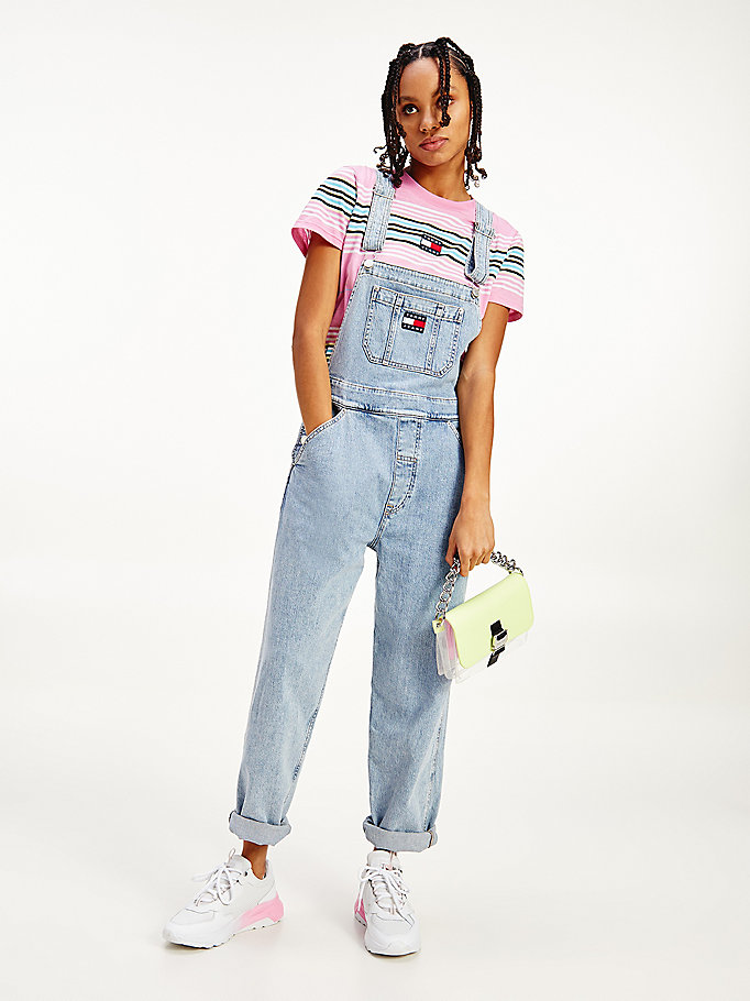 denim denim dungarees for women tommy jeans