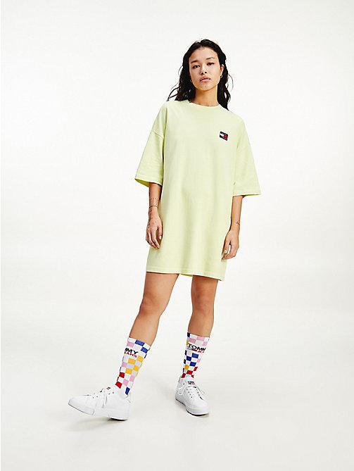 T Shirt Kleid Neon Grün  chicago 2021