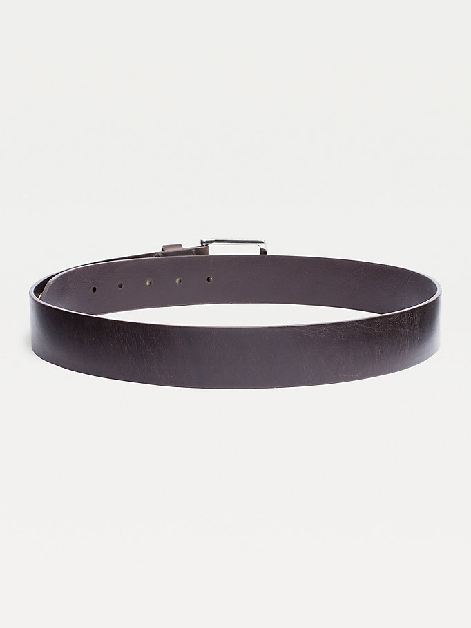 TOMMY HILFIGER Denton Belt - DARK TAN - TOMMY HILFIGER Bags & Accessories - detail image 1