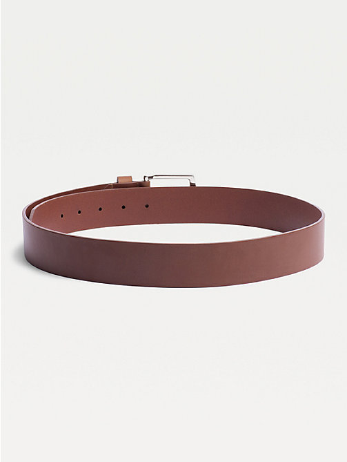 TOMMY HILFIGER Denton Belt - DARK TAN - TOMMY HILFIGER Belts - detail image 1