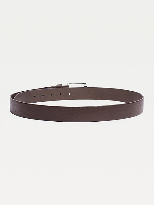 TOMMY HILFIGER Leather Belt - TESTA DI MORO - TOMMY HILFIGER Belts - detail image 1