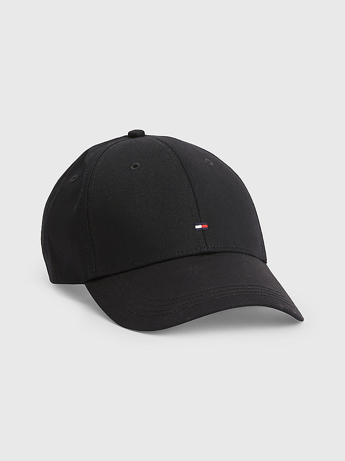 black classic baseball cap for men tommy hilfiger