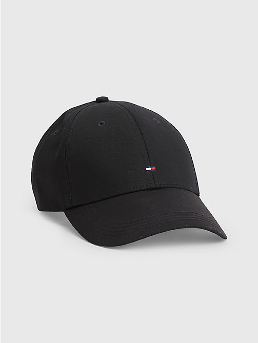 TOMMY HILFIGER Classic Baseball Cap - FLAG BLACK - TOMMY HILFIGER Hats, Gloves & Scarves - main image